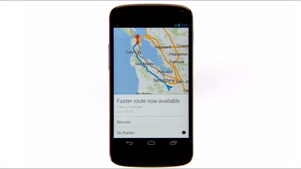 Directions and navigation with the new Google Maps app on