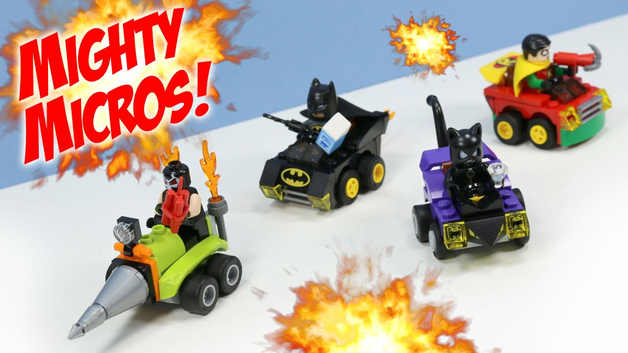 Car Batman und Catwoman 76061 Mighty Micros Auto LEGO® Super Heroes