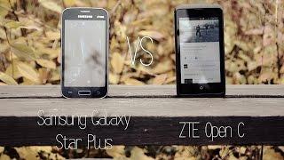 ZTE против Samsung. Сравнение бюджетных смартфонов.