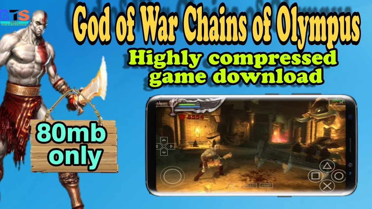 Download file game ppsspp god of war chains of olympus | God