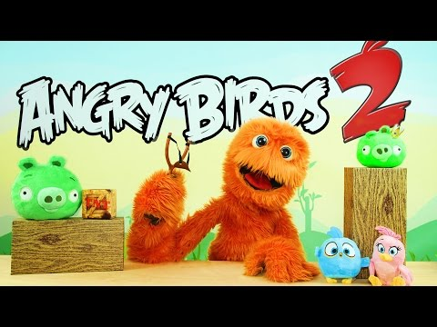 Angry Birds Movie Toys Unboxing Space Play-Doh Surprise Eggs for kids