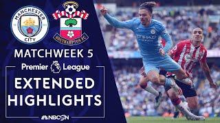 Manchester City v. Southampton   PREMIER LEAGUE HIGHLIGHTS   9/18/2021   NBC Sports