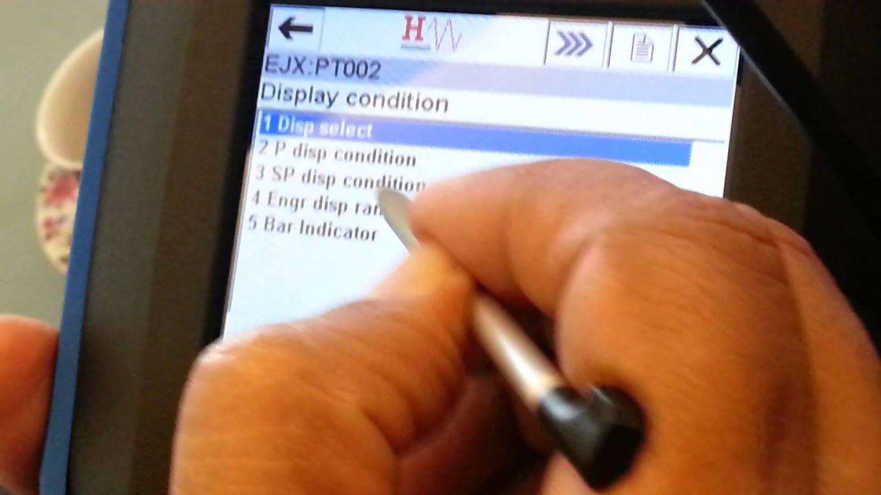Pressure Transmitter And Temperature Training Sensor Current Loop Calibration With Hart Communicator Full