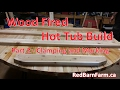 Wood Fired Hot Tub Build  - Part 2 - Clamping and Marking