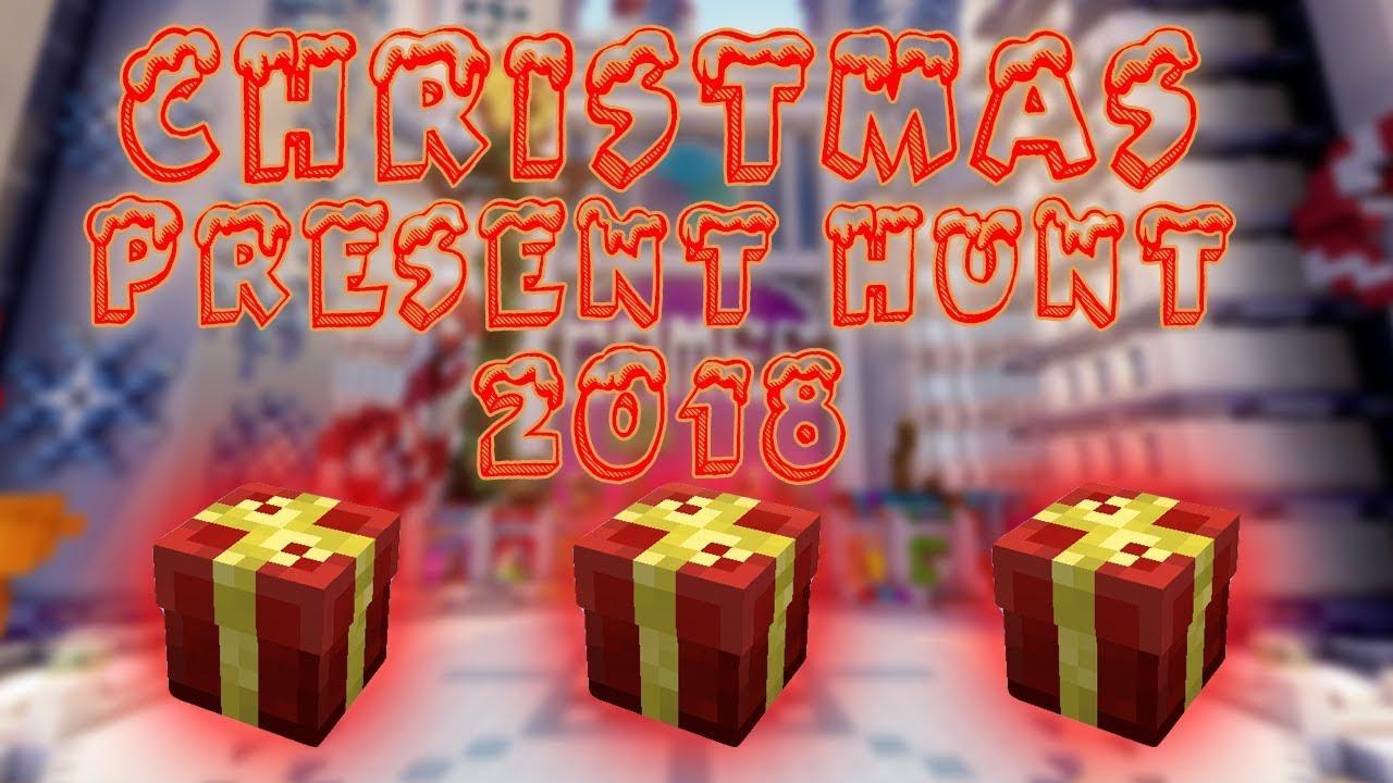 Cubecraft Christmas Present Hunt 2021 Video Cubecraft Present Hunt All Coordinates 2018 Cubecraft Games