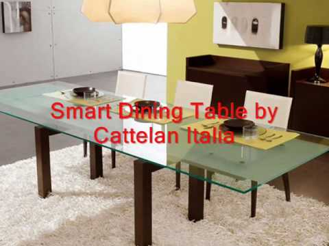 Modern Gl Top Extension Dining Tables Modern Italian Dining Tables Designer