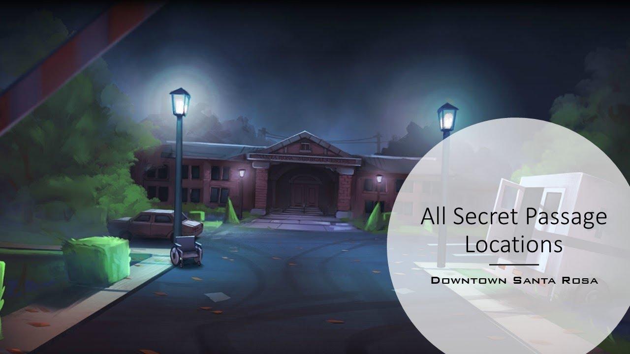 Dead Maze - Downtown Santa Rosa   Secret Passages (SP ...