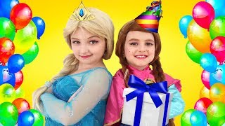 Princess Forgets Her Sister's Birthday! BIG SURPRISE for Baby Sister!   Super Elsa