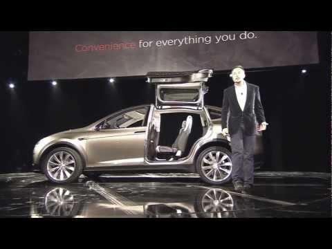 Tesla Model X Reveal
