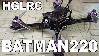 HGLRC Batman220 5-inch Racing Drone Review 👍