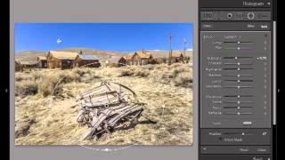 Lightroom 5: Using the Develop Radial Filter Tool