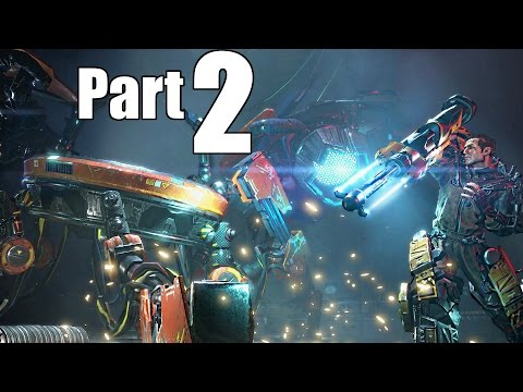 The Surge Gameplay Walkthrough Part 2- Central Production B & LU-74 Firebug Boss Fight (XBOX ONE)
