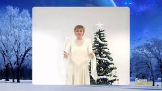 Annie Goebel Sjunger låten Stilla Natt med Teckenspråk