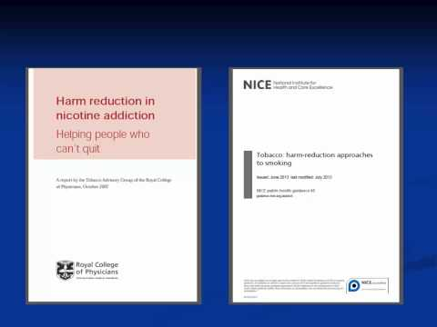 Linda Bauld - Tobacco harm reduction and e-cigarettes: A UK and European perspective