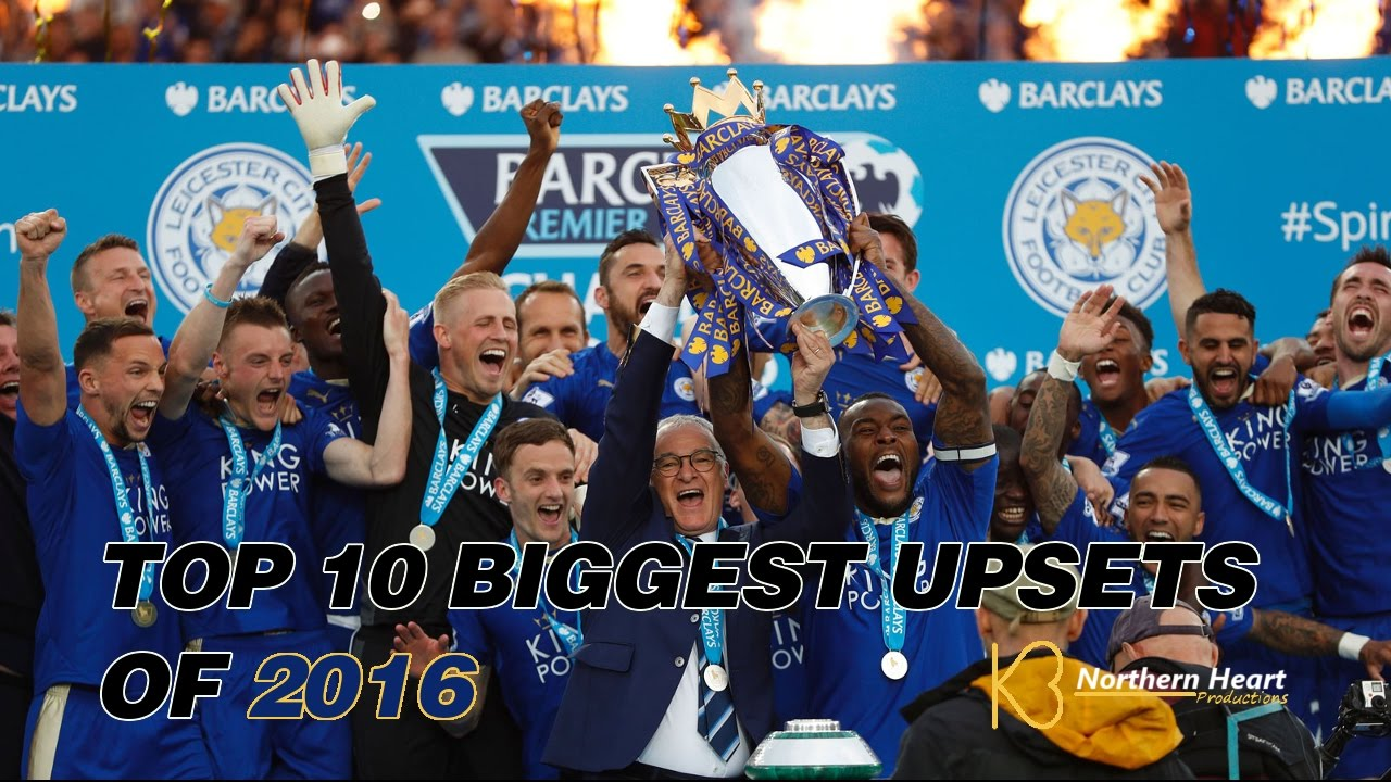 Top 10 Biggest Sports Upsets Of 2016