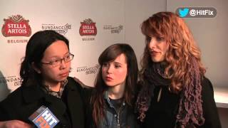 Touchy Feely - Interview with Lynn Shelton, Ellen Page and Tomo Nakayama at Sundance 2013