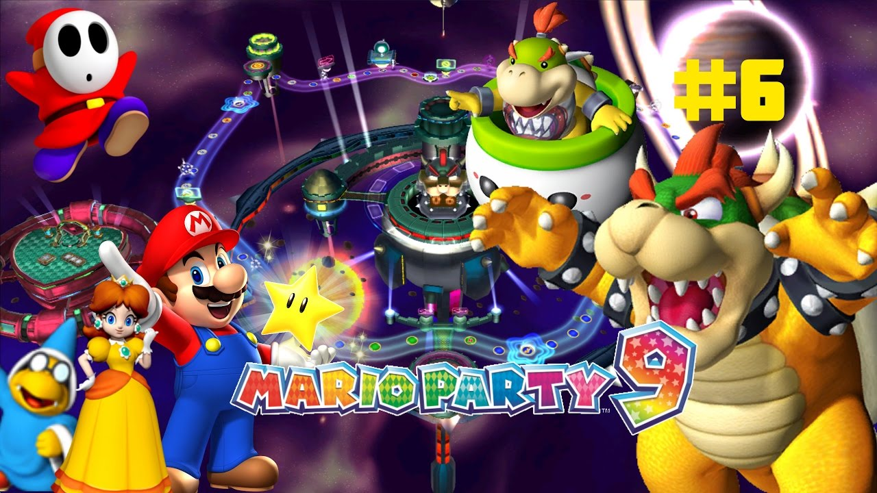 Mario Party 9 6 Bowser Station Youtube