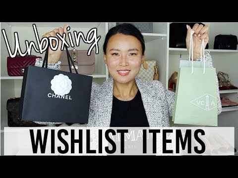 Chanel and Van Cleef & Arpels Unboxing 2019   Wishlist items   VCA Alhambra