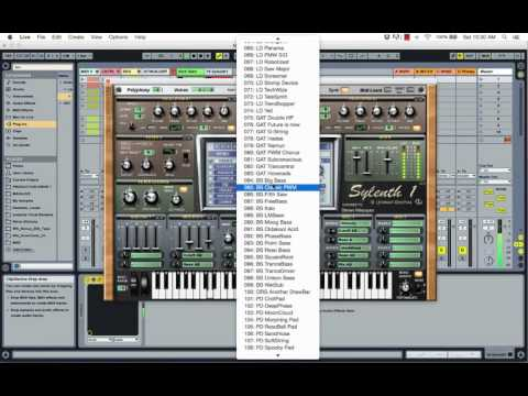 Creating MIDI Sequences and Frequency Editing Bass Lines