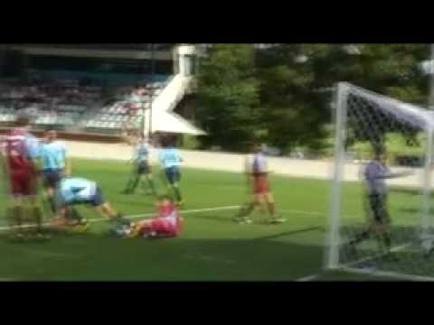 Chris Ikonomidis U15's football 2010