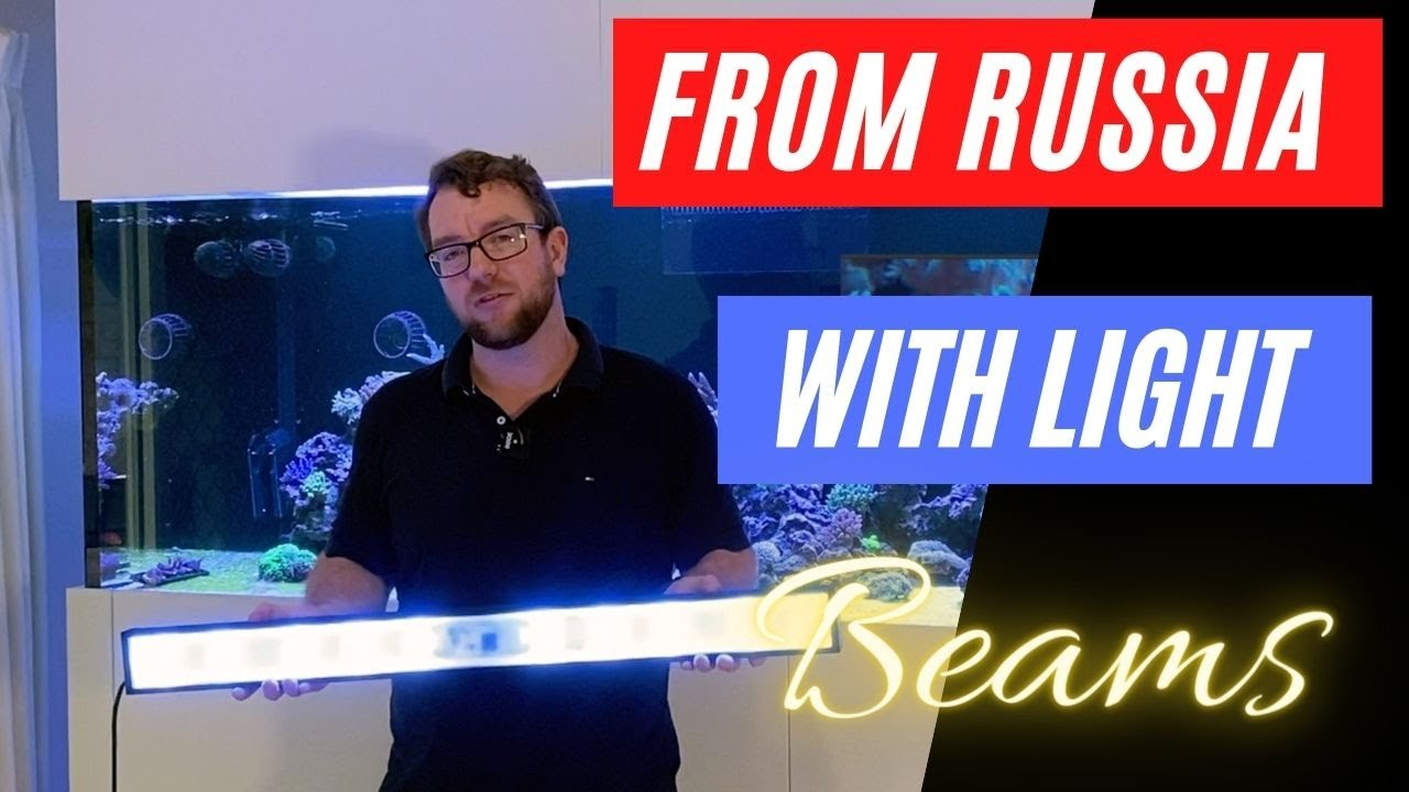 Revolutionary new Reef LED out of Russia - The BEAMS