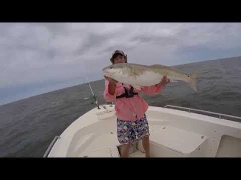 Bull Drum Fishing in the Pamlico Sound w/ Capt. George Beckwith