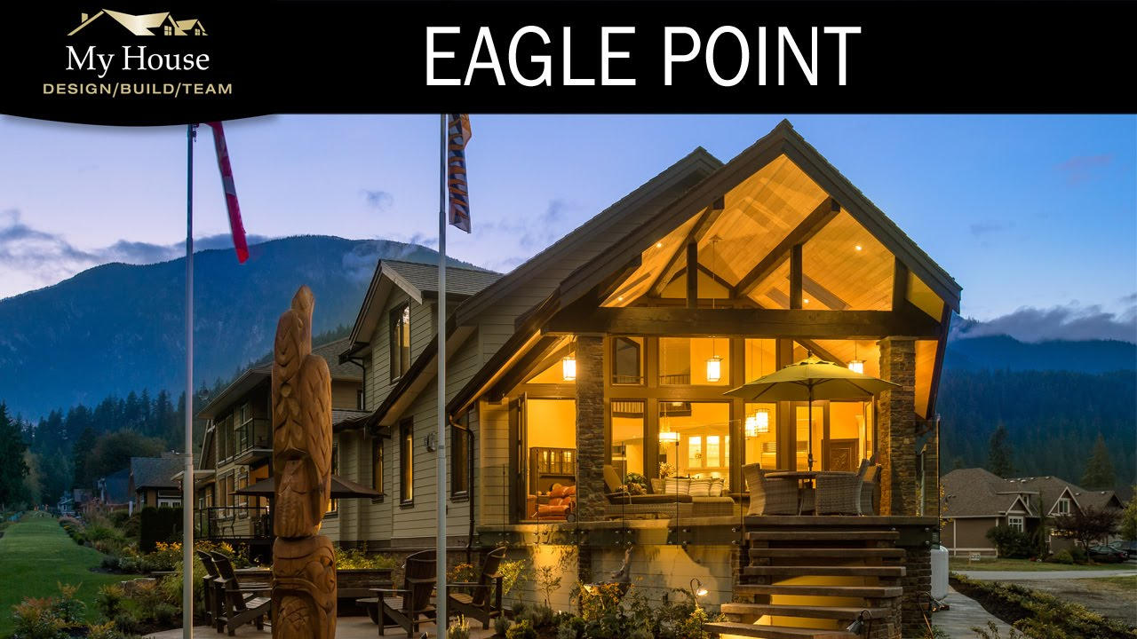 My House Feature Homes - Eagle Point Eerie Home Tour - YouTube