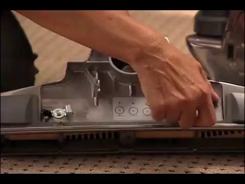 How To Adjust The Brush Roll On The Kirby Sentria Vacuum Youtube
