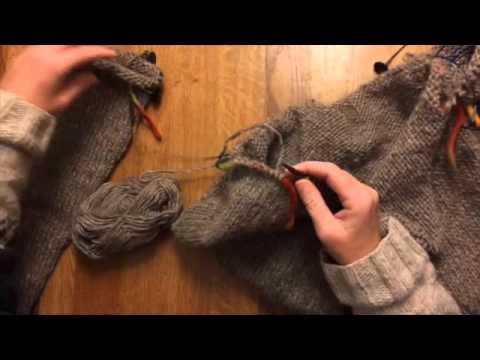 Pullover zusammen stricken