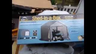 Shelter Logic Garden Shed Assembly Review