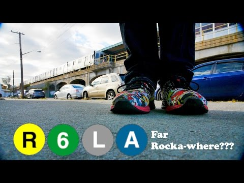 R 6 L A to Far Rockaway! Where to Now? (also see a W train sign)