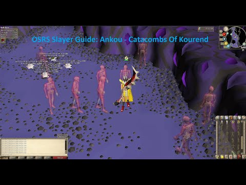 [OSRS] Konar Slayer Guide: Ankou Catacombs Of Kourend 2019