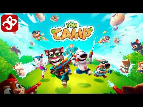 Talking Tom Camp (By Outfit7 Limited) - iOS/Android - Gameplay Video