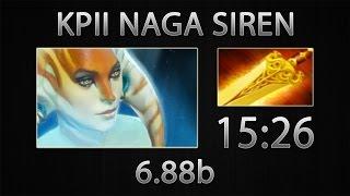 Dota 2 Naga Siren Fast Farm - KPII - Radiance - 15:26 [6.88b]