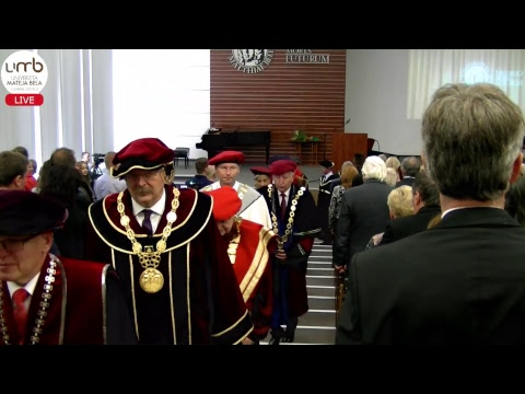 Slávnostná inaugurácia rektora UMB a otvorenie akademického roka 2018/2019