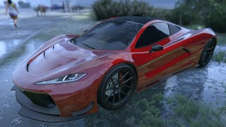 GTA 5 Online - New PROGEN T20 Gameplay & Customization (GTA 5 ill Gotten Gains Update)
