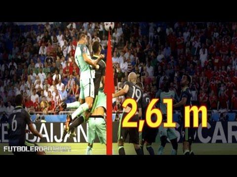 El brutal salto de Cristiano Ronaldo ante Gales ◉ Portugal-Gales ◉ Eurocopa de Francia ◉ 2016