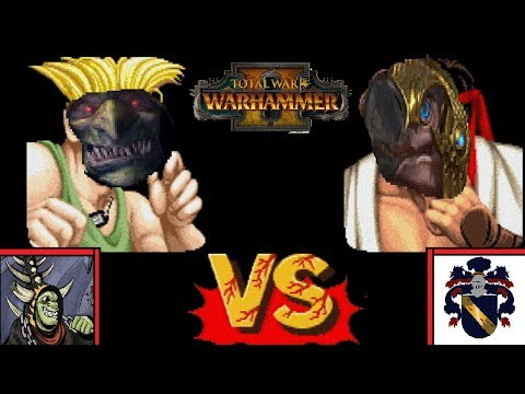 The Gobbo King vs DahvPlays - BEST OF 5 Showcase | Total War: Warhammer 2