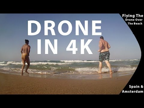 Flying the Drone In 4K | Spain | Travel Vlogs