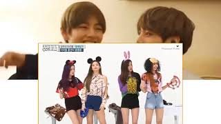 BTS reaction to Lisa and Jennie funny moments \
