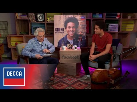 Sheku Kanneh-Mason & John Suchet - LIVE from Facebook London