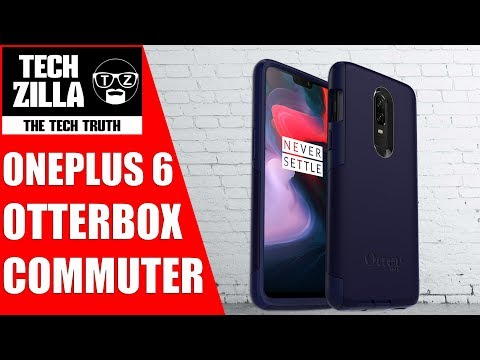 check out b38e3 4acb1 Official OnePlus 6 Otterbox Commuter Case Review - YouTube