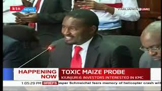 Toxic maize probe: Ministry of Agriculture and Irrigation CS Mwangi Kiunjuri grilled