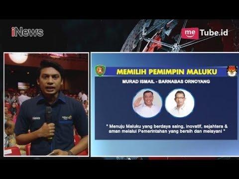 Debat Pilkada Maluku Utara 2018 Hadirkan 6 Orang Panelis - INews Sore 10/05