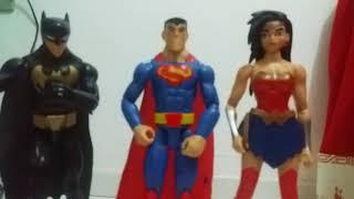 Review da mulher maravilha liga da justiça brinquedo