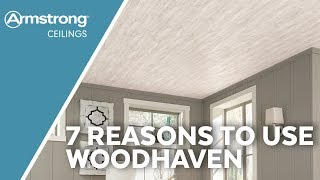 Using WoodHaven Ceiling Planks | Wood Ceiling Ideas | Armstrong Ceilings for the Home