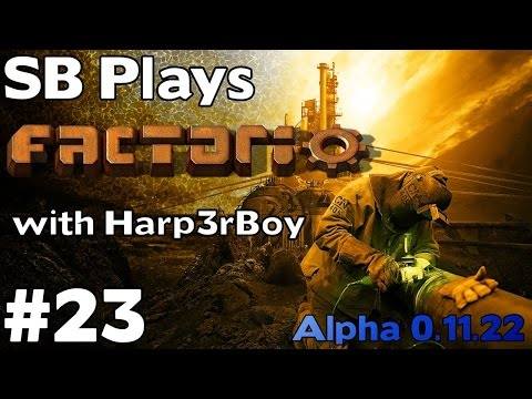 Preparing for Processing Unit Production - SB Plays Factorio with Harp3rBoy [ep23] (Alpha 0.11.22)