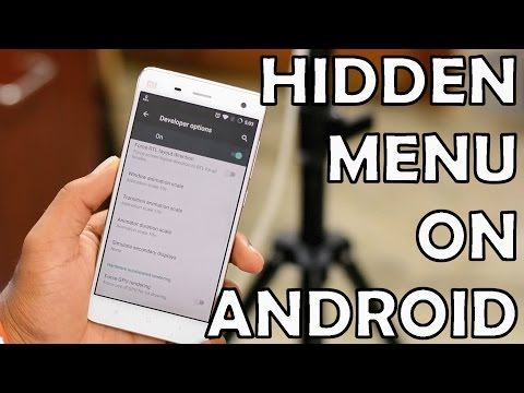 The Hidden Menu- 10 Hidden Android Features
