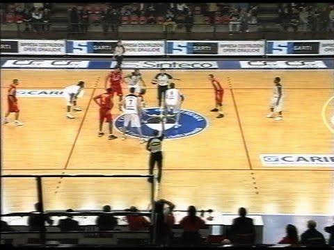 Legadue 2006/'07 Carife Ferrara - Indesit Fabriano Basket 88-73