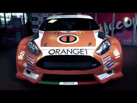 ORANGE1 RACING - CIR 2018 RALLY TEAM PRESENTATION (Simone Campedelli, Tania Canton, Ford Fiesta R5)